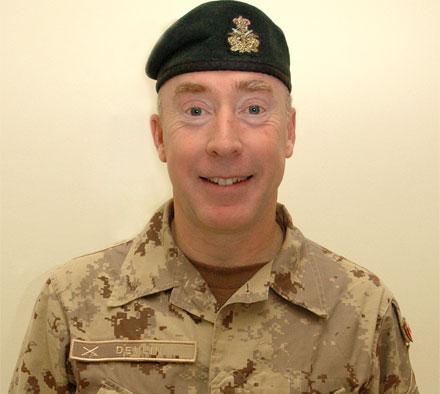 Canadian Maj. Gen. Peter Devlin