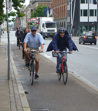 A Copenhagen bike lane. PHOTO: bmevans80 on Flickr