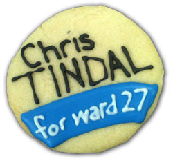 Chris Tindal for Ward 27 Cookie